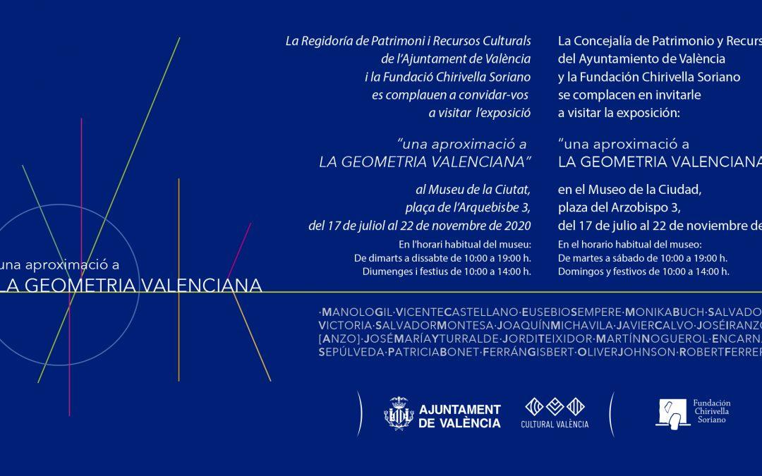 'Una aproximación a la Geometría Valenciana'. Museo de la Ciudad de Valencia